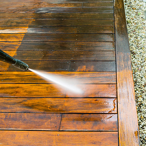Garage, Patio & Deck Cleaning